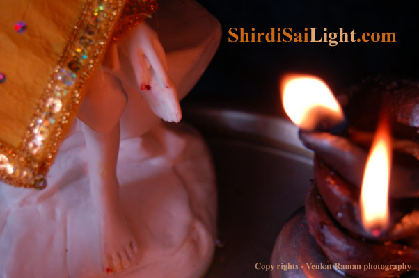 shirdi saibaba light